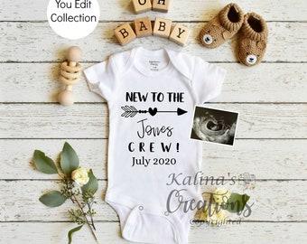 Pregnancy Announcement Template for Social Media Announce