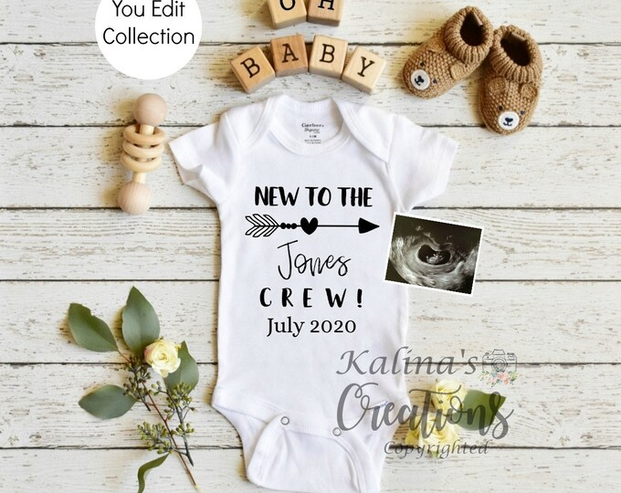 Pregnancy Announcement Template for Social Media Announce