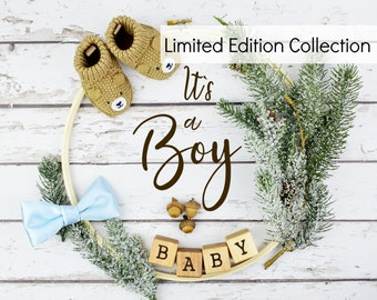 Digital Boy Gender Pregnancy Announcement