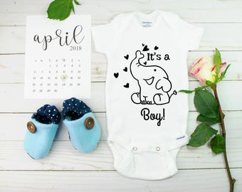 Gender Reveal Onesies