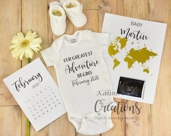 Greatest Adventure Begins Pregnancy Announcement