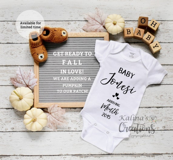Thanksgiving Baby Announcement for Social Media