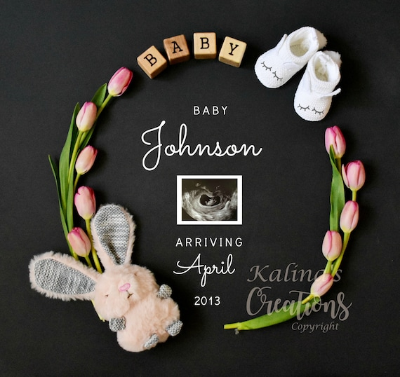 Easter Pregnancy Announcement for Social Media