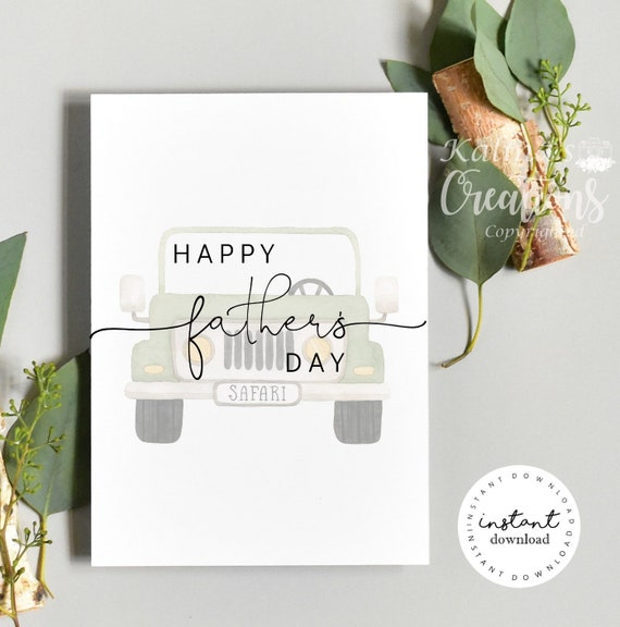 Father's Day Card Pregnancy Announcement- You Print