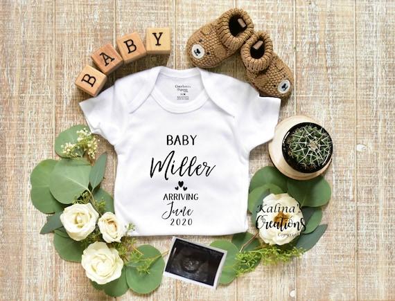 Gender Neutral Baby Announcement for Social Media