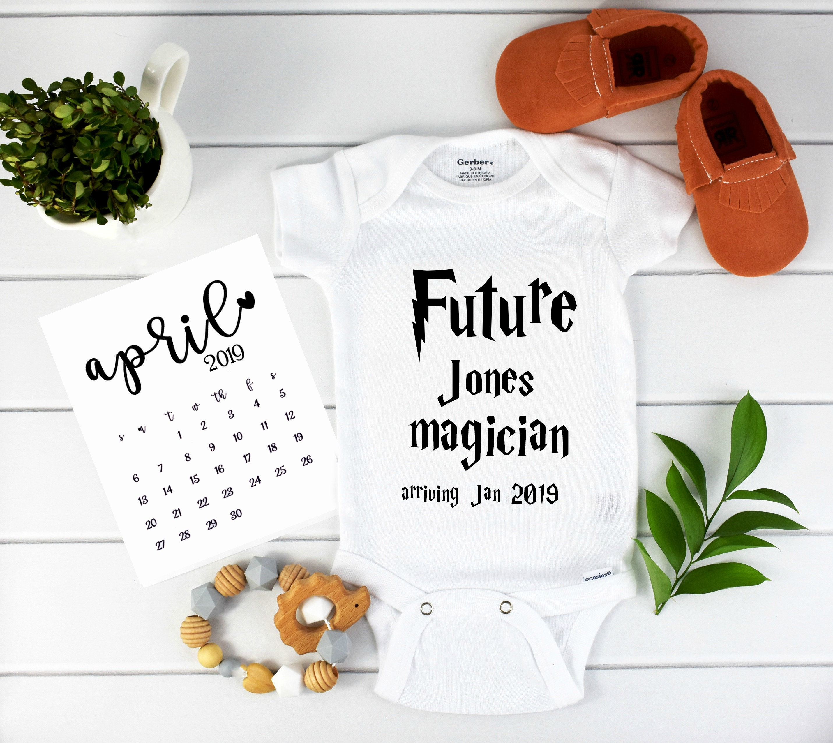 063c5e2dcd7d0 Harry Potter Baby / Baby Announcement / Harry Potter / Pregnancy Reveal