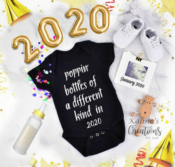 New Year 2020 Pregnancy Announcement Personalized