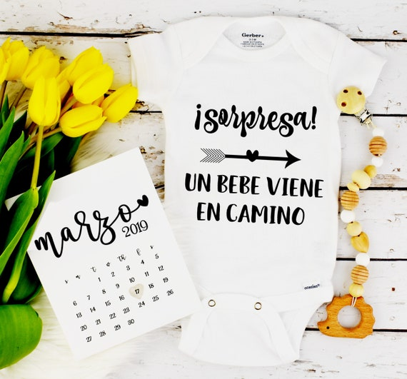 Spanish Pregnancy Announcement