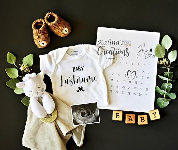 Original Pregnancy Announcement for Social media -pregnancy announcement digital - virtual