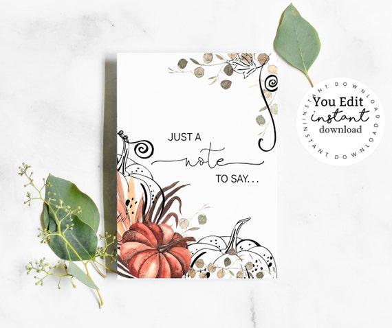 Pregnancy Announcement Card- You Print