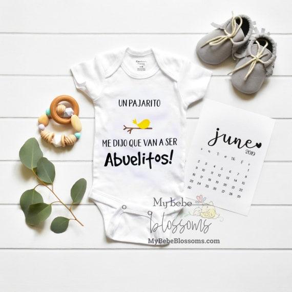 Spanish Baby Announcement / announcement ideas
