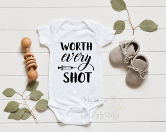 IVF Pregnancy Announcement Onesie with Gift Set