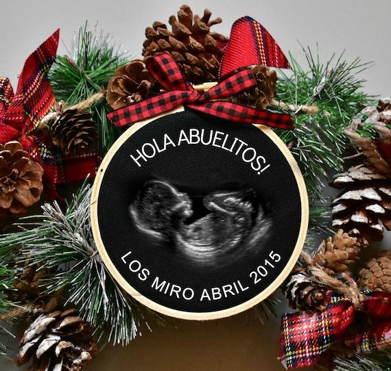 Christmas Ornament Pregnancy Announcement