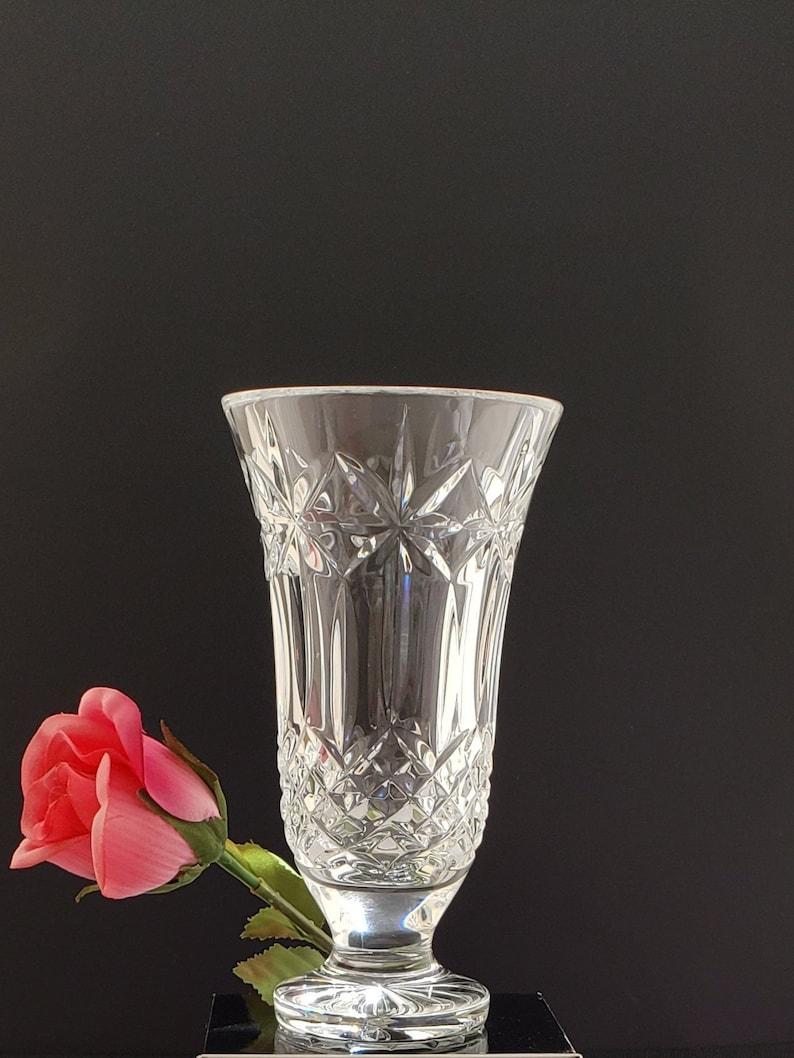 Etsy & Flower Vase Balmoral by Waterford Crystal 7-1/8\u0027\u0027
