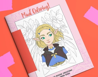 Mad Coloring! A Coloring Book for Artists