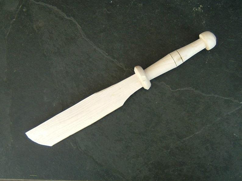 Wooden Sword Elf Hobbit Dagger Cosplay Larp Lotr Movie Prop Etsy