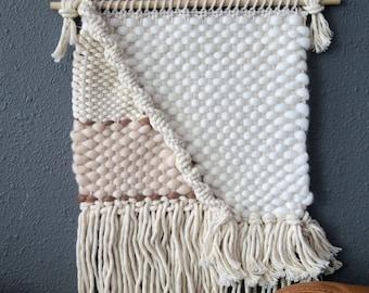 Style ELEVEN | Neutral woven wall art, boho
