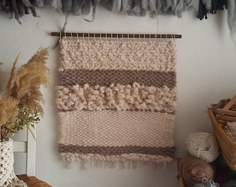 Thick 2ft x 2ft   Neutral wall hanging