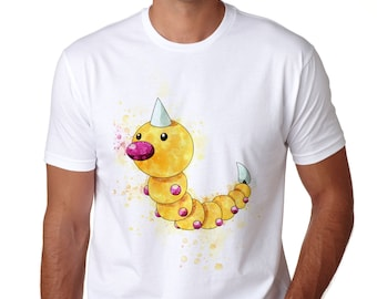 777edb29 Weedle T-Shirt, Personalized Weedle Tee, Game tshirt, Unisex Anime Tee,  Great Gamer Gift Idea T013