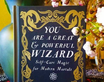 Mental Health Grimoire Book Lovers Gift Harry Potter Witch Spell Book Psychology Gift Witchcraft Wizardry Book of Shadows Wizard Magic