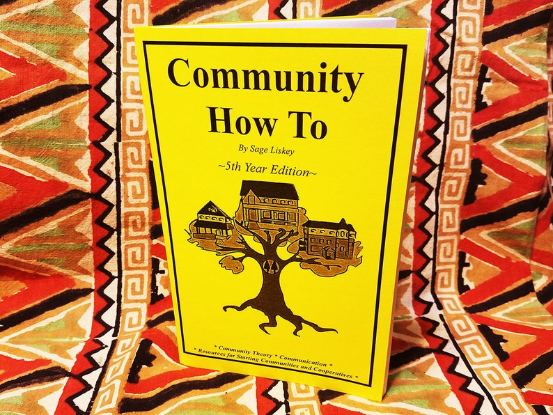 Community How To Zine for Homesteaders Neighbors Roommates image 0