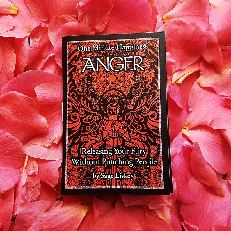 Anger Management Zine for Mental Health Recovery and image 0