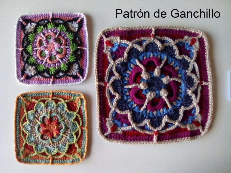 6d62e7d8687f Patrón de Ganchillo Mandala 3.0