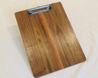 wooden clipboard pine clipboard office gift 8 5 x 11 etsy