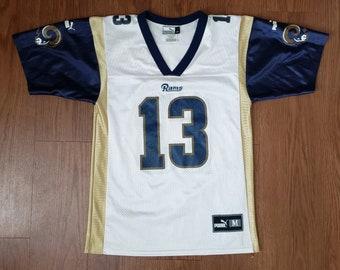 3bf82404ae1 Kurt Warner #13 Rams Jersey By Puma
