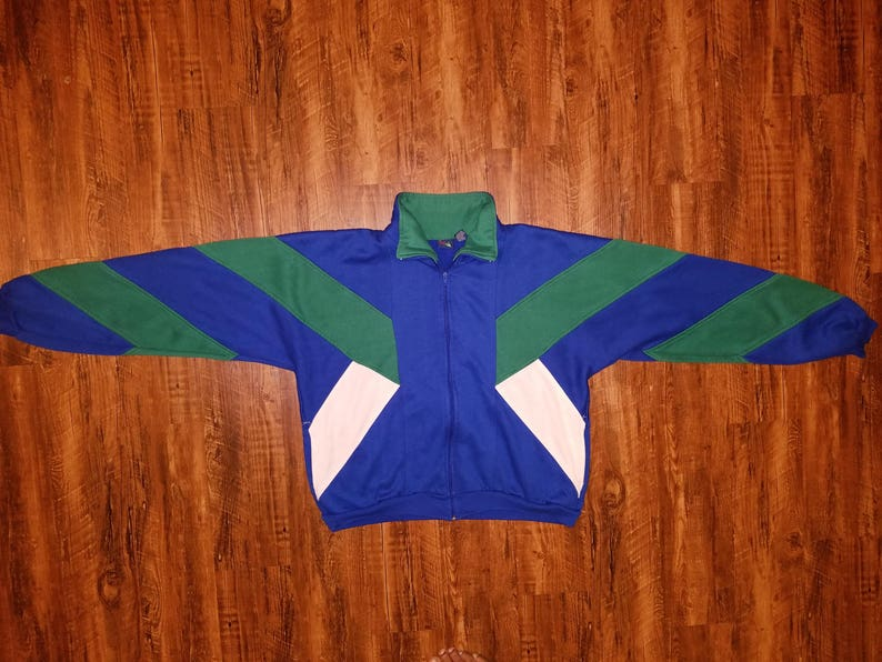 Vintage 70s 80s Track Jacket by FIRST RUN