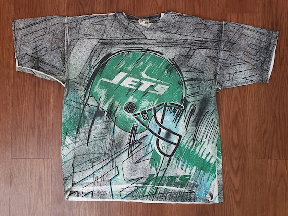 90's Magic Johnson New York Jets Football Tee