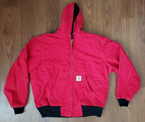 entire collection the sale of shoes factory outlets Red Carhartt Industrial Outdoors Jacket