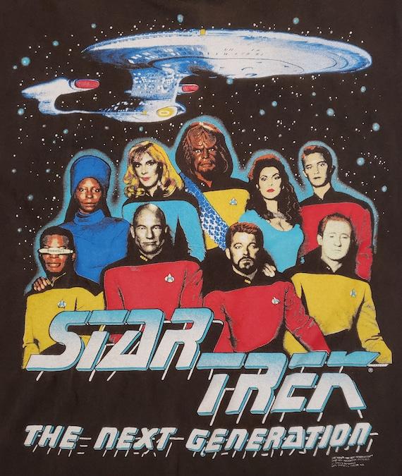 1991 Star Trek la prochaine Graphic génération Graphic prochaine Tee aa44a7