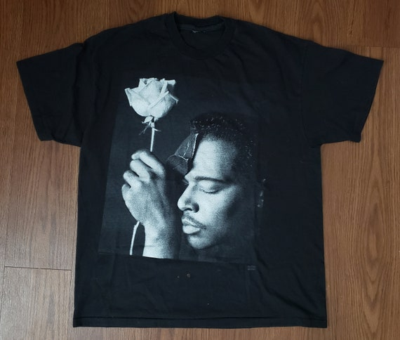 1992 Luther Vandross Never Let Me Go Promo Tee