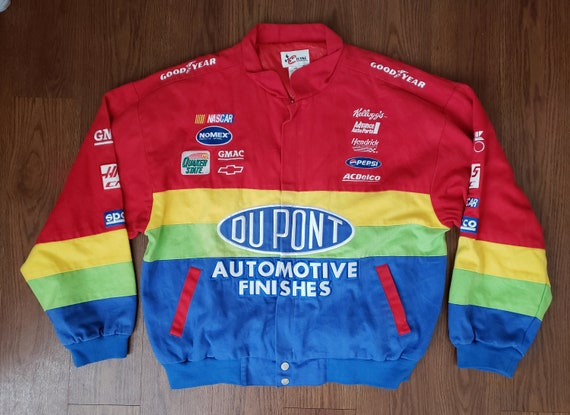 1990's Du Pont Rainbow Racing NASCAR Jacket