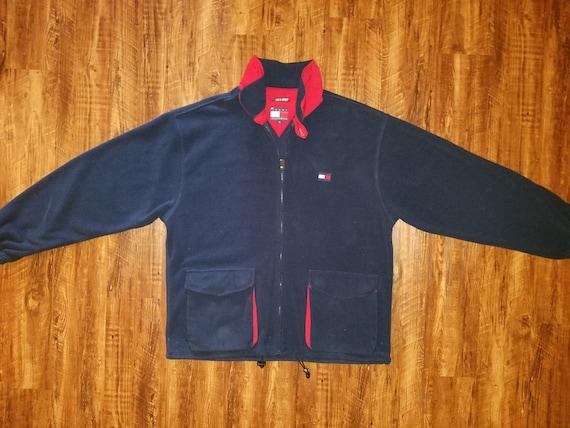 90s Classic Tommy Hilfiger Fleece Jacket
