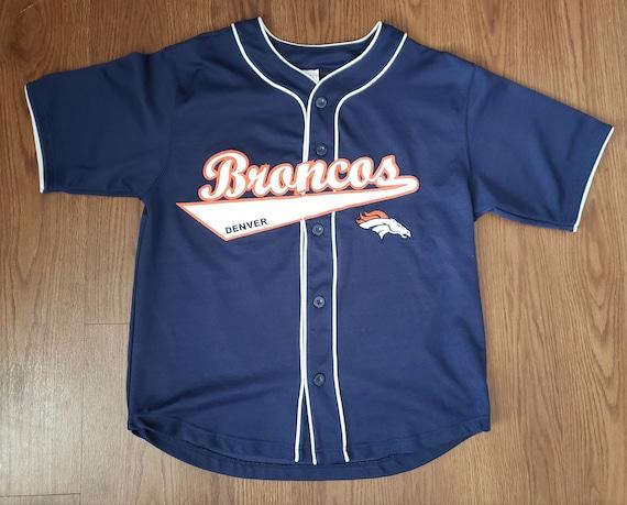 John Lynch #47 Denver Broncos Baseball Style Jerse