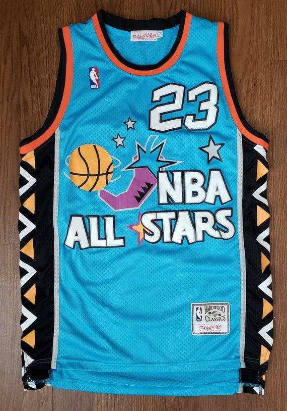 huge selection of 891d6 bcf04 NBA All Stars Hardwood Classics Michael Jordan #23 Basketball Jersey