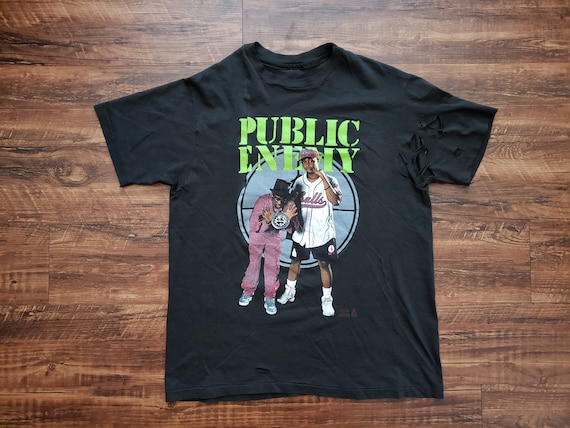 1991 Public Enemy Rap Tee