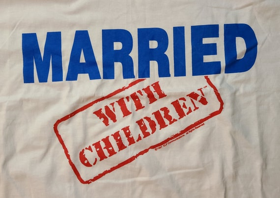 1987 Married With Children Graphic Tee - image 2