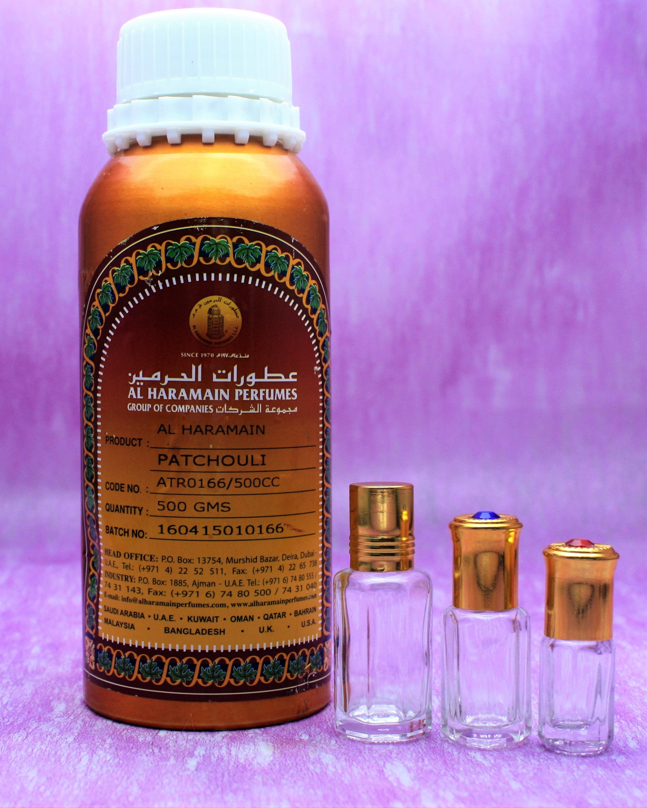 PATCHOULI, pure patchouli attar, pure Oriental perfumed oil