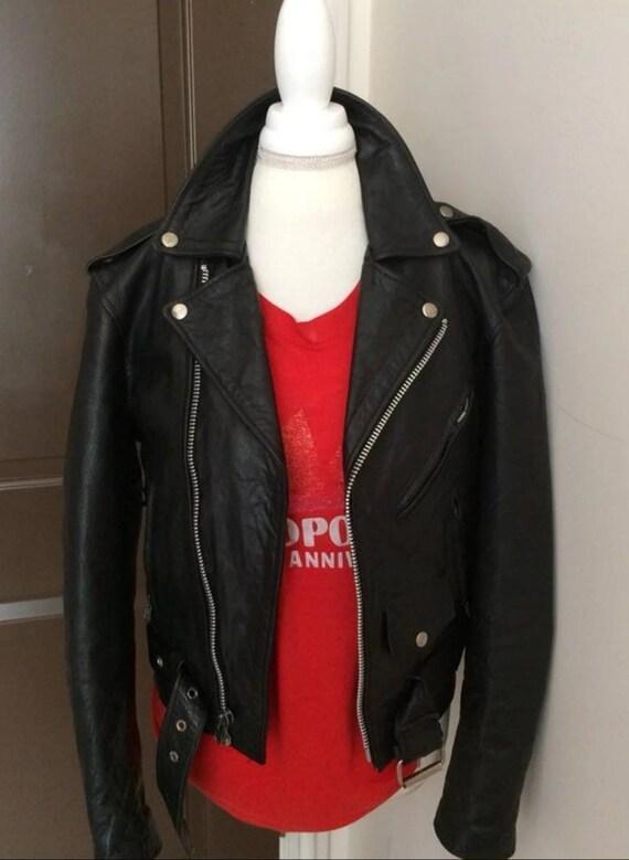Vintage Men's Motorcycle Jacket