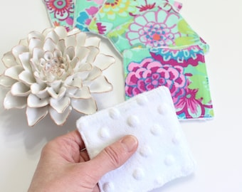 Reusable Makeup Remover Pads Gift For Her, Eco Friendly Cotton Rounds, Zero Waste Facial Rounds
