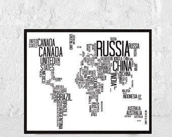 world map wall decor, map art, home decor, world map print, world map poster, world map, world map art, large world map, map of the world