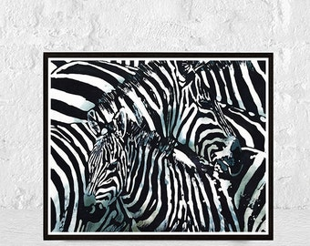 Zebra, Zebra Print, Black And White, Zebra Art, Animal Print, Zebra
