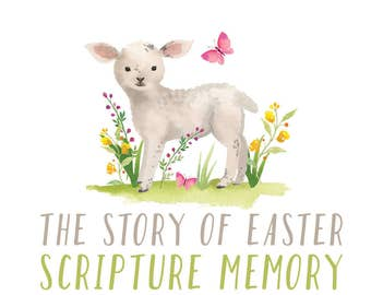 Kids Scripture Memory Cards: The Story of Easter