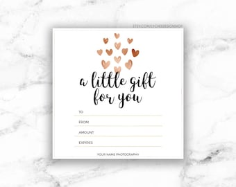 word template gift certificate