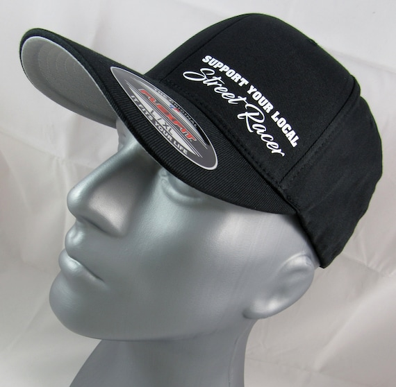 MOPAR RACING DODGE  FLEXFIT HAT CURVED or FLAT BILL *FREE SHIPPING in BOX*