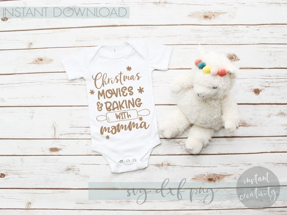 Christmas Movies Baking with Momma, SVG Files, Baby Kids, Movie Quotes,  Rolling Pin, Kitchen Quotes, Craft Projects, Vector Design, Holiday