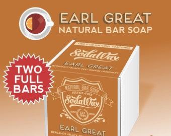 "SodaWax™ Natural Bar Soap (2-Pack) Spearmint + Anise + Eucalyptus + Cinnamon Bark > ""Early Bird"" 15% OFF 3+ Items & USA Free Shipping"